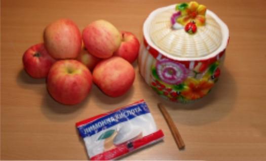 Рецепт Яблоки в сиропе на зиму