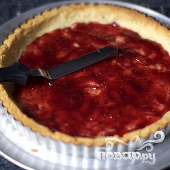 Миндальный пирог с малиной - фото шаг 2