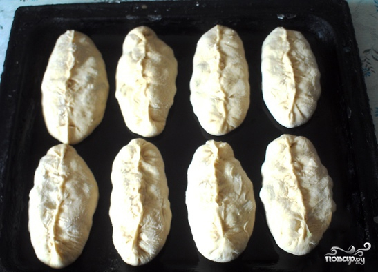 Пирожки с черемухой - фото шаг 3