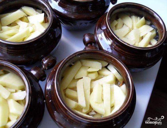 Жаркое из свинины в горшочках - фото шаг 7