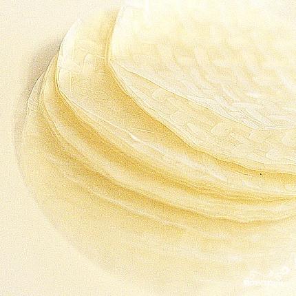 Рецепт Спринг-роллы с куриным фаршем и грибами