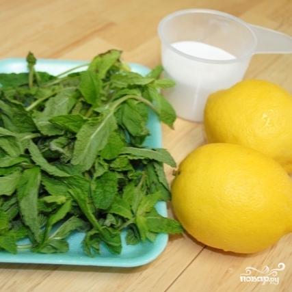 Рецепт Турецкий мятный лимонад