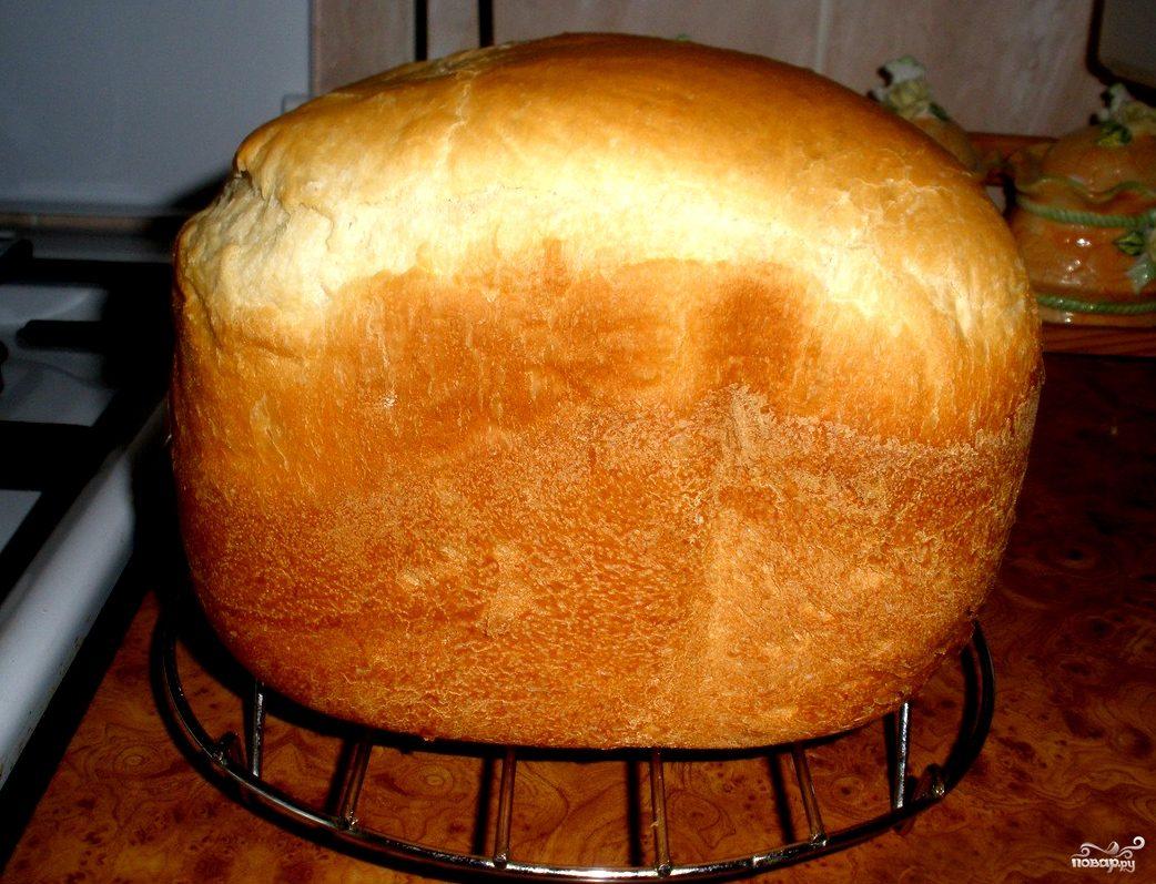 Вкусный белый хлеб в хлебопечке