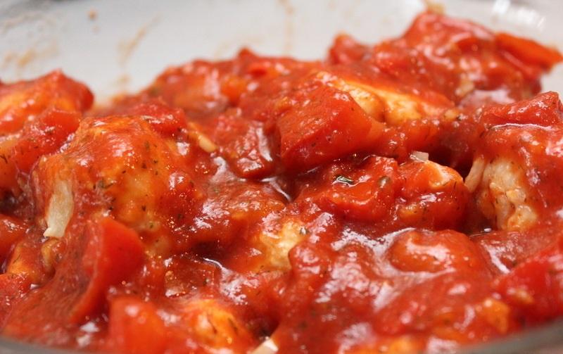 Рис с куриным фаршем и помидорами - фото шаг 5