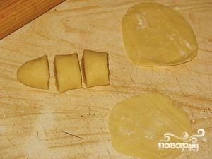 Постные вареники с грибами - фото шаг 4