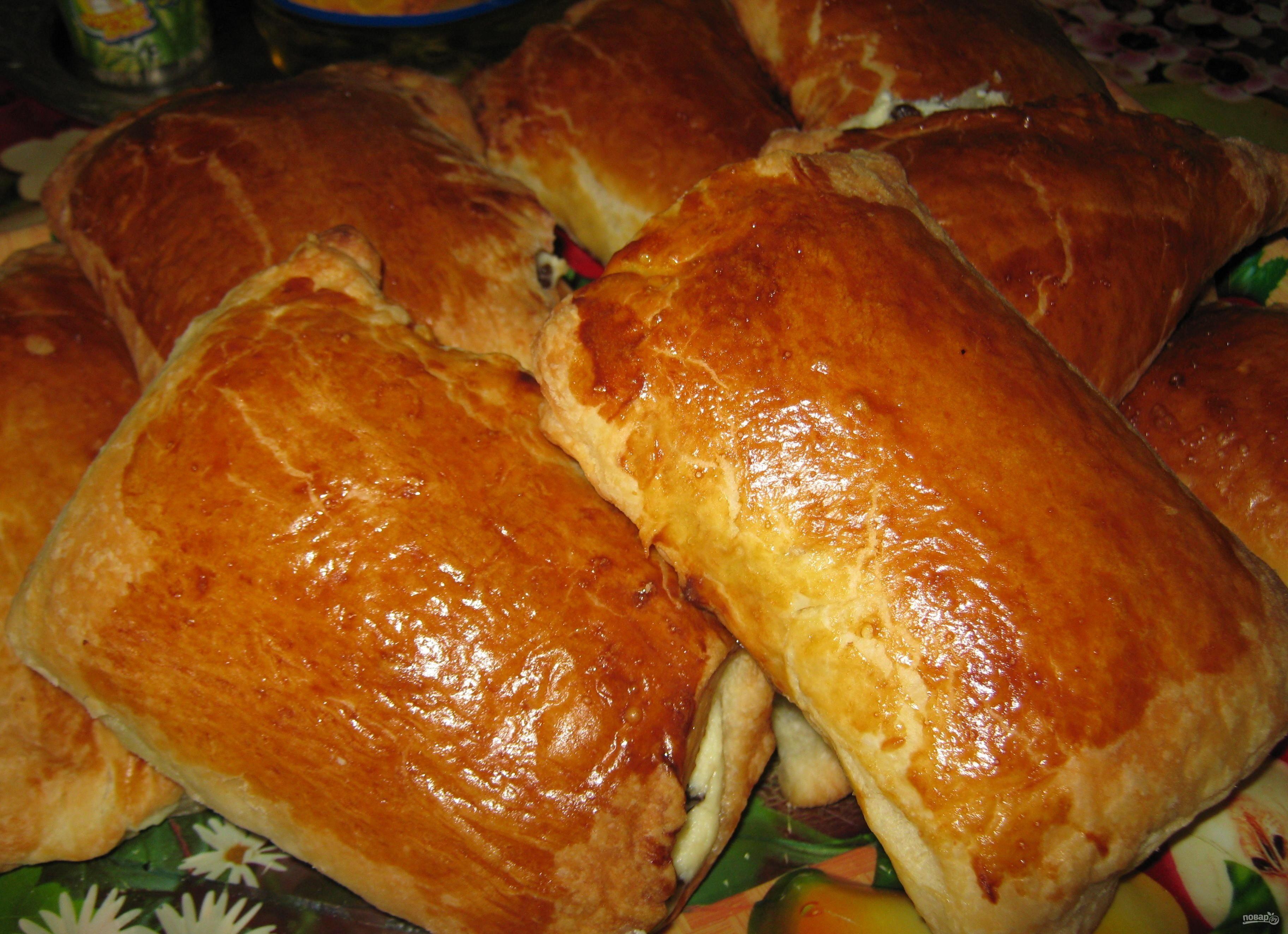 Слоеные пироги с творогом рецепт пошагово