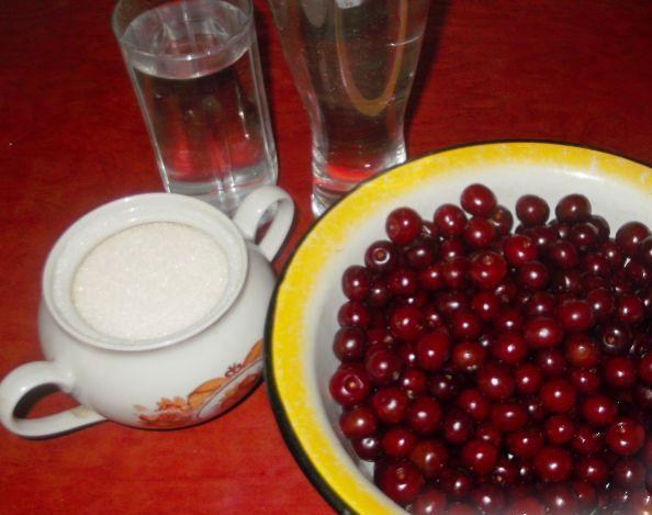 Рецепт Вишневый ликер