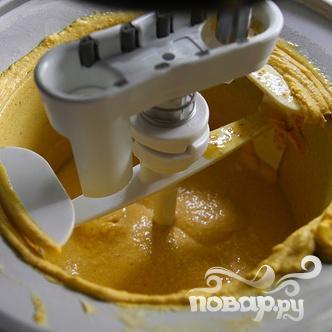 Тыквенное мороженое с печеньем - фото шаг 6