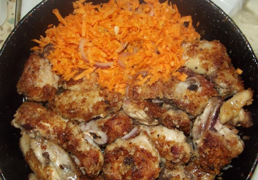 Курица в сухарях - фото шаг 4