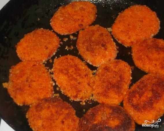 Котлеты из моркови постные - фото шаг 5