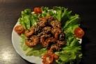 Креветки в соевом соусе