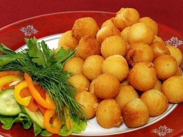 Картофельные шарики из пюре - фото шаг 4