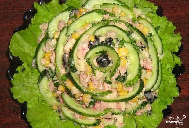 салат ольга пошаговый рецепт с фото
