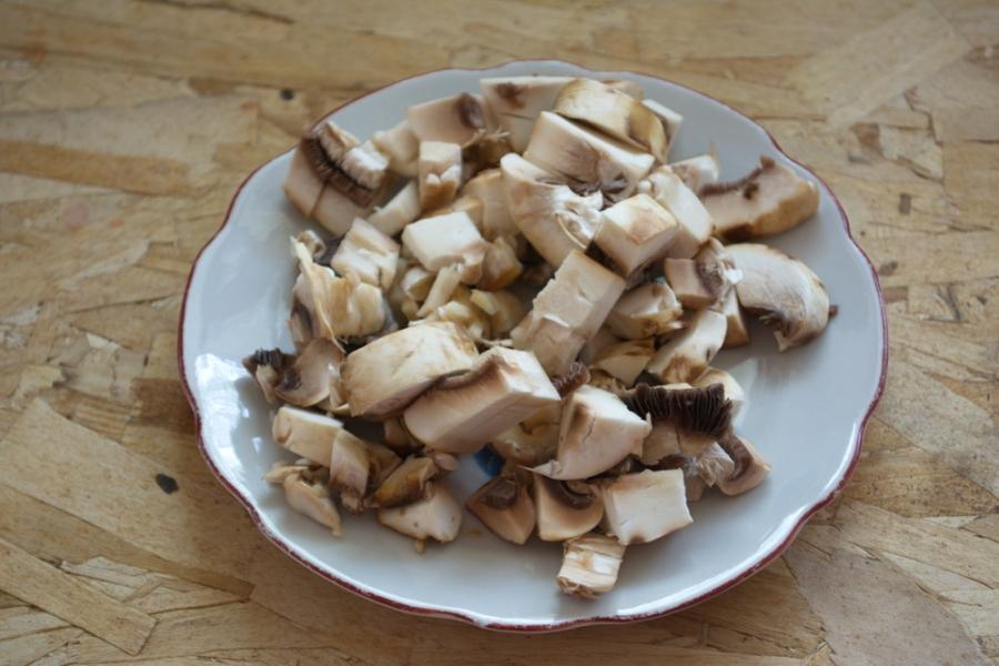Рецепт Слоеные пирожки с грибами