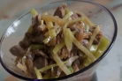 Куриные желудки по-корейски