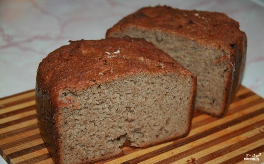 Гречишный хлеб в хлебопечке - фото шаг 3