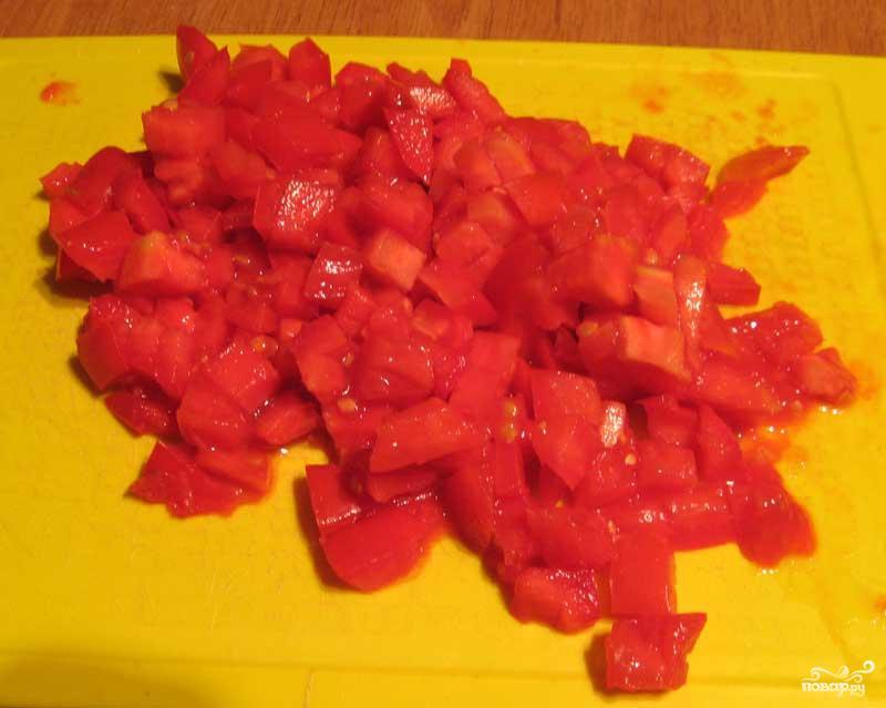 Омлет с помидорами - фото шаг 4