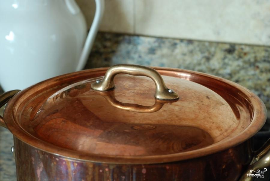 Кремовый куриный суп - фото шаг 2