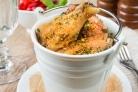 Куриные крылышки с сыром Пармезан в духовке