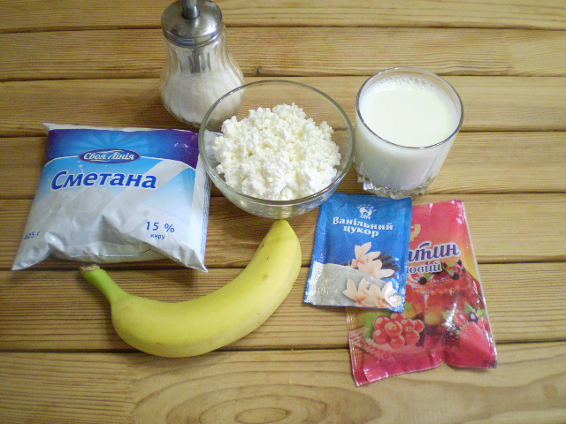 Рецепт Бланманже с фруктами