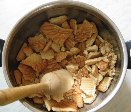 Рецепт Рулет из печенья без выпечки
