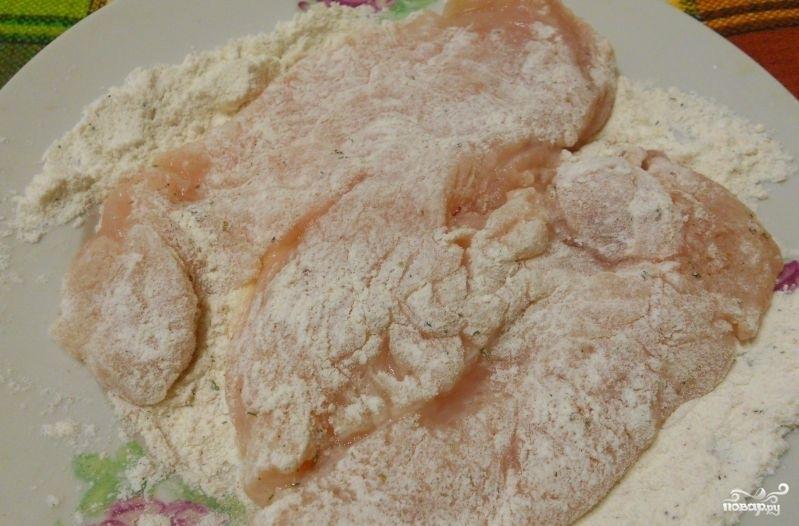 Жареное куриное филе с корочкой - фото шаг 4