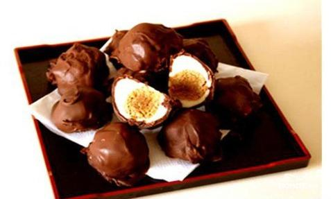 Рецепт Пасхальные творожные яйца