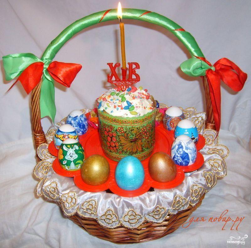 Рецепт Бабушкин пасхальный кулич