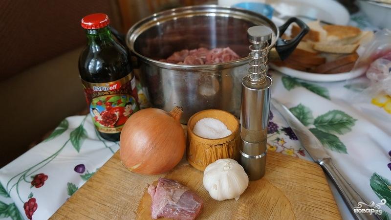Шашлык из телятины по-узбекски - фото шаг 1