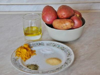 Рецепт Картошка по-селянски в мультиварке