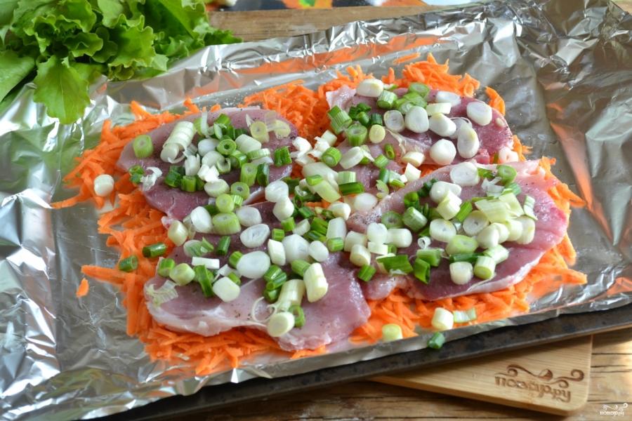 Мясо в духовке по-итальянски - фото шаг 4