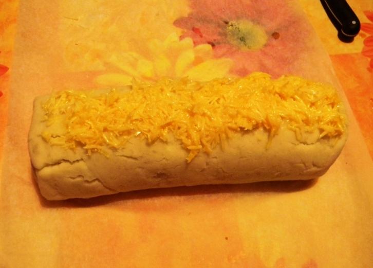 Картофельный рулет с грибами - фото шаг 7