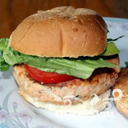 Рецепт Бургеры из лосося с розмарином