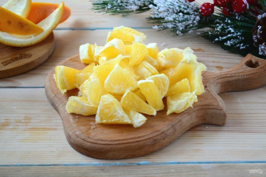 Быстрый апельсиновый пирог на скорую руку - фото шаг 4
