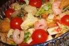 Простой салат с каперсами