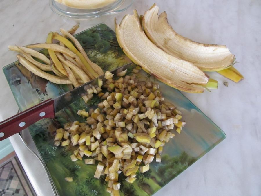 Квас из банановой кожуры - фото шаг 2