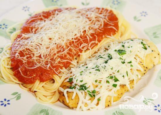Приготовить макароны с курицей рецепт с фото