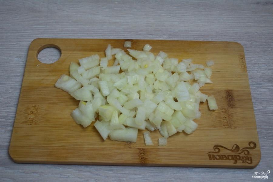 Сырный суп с курицей - фото шаг 4