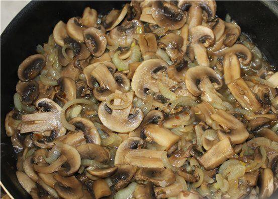 Рецепт Грибной суп-пюре