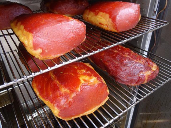 Мясо копченое   - фото шаг 3