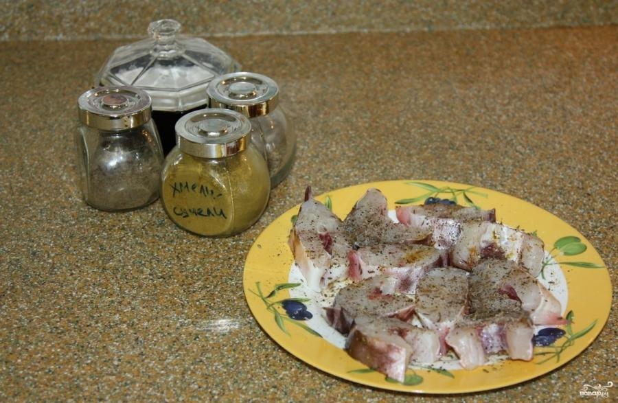 Конгрио в духовке - фото шаг 1
