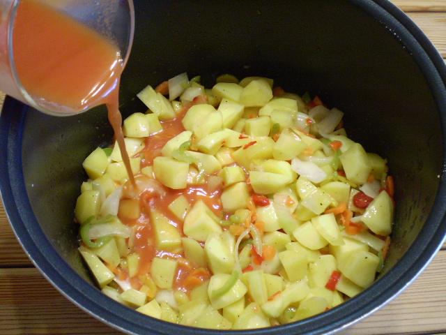 Картофельное рагу - фото шаг 5