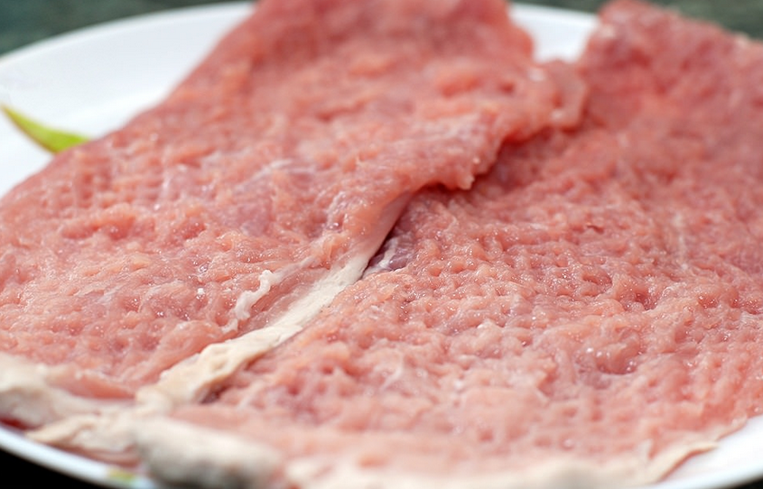Рецепт Ромштекс из свинины без сухарей
