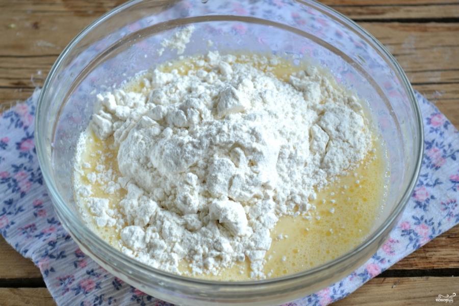 Рецепт бездрожжевого теста для пиццы на молоке с фото пошагово