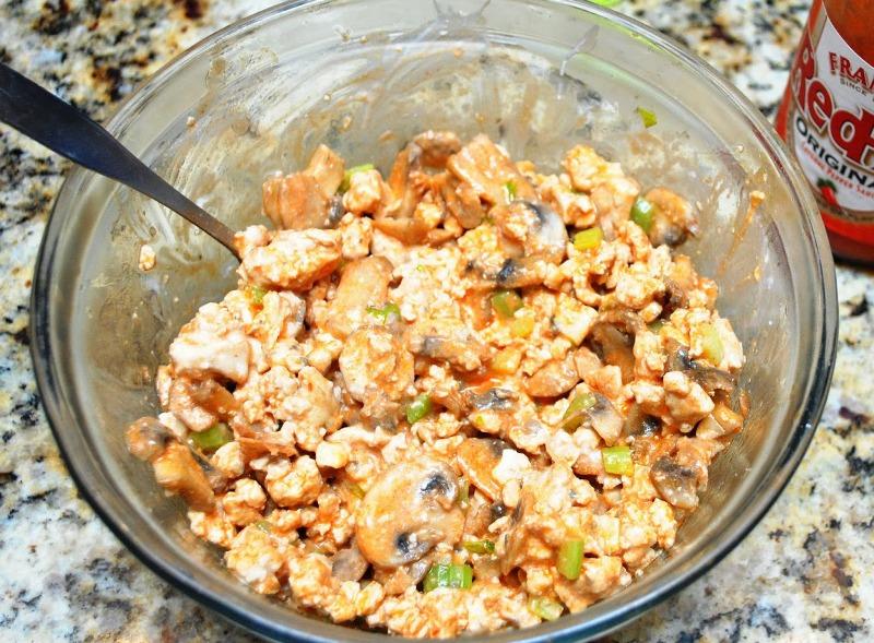 Рецепт Перец, фаршированный курицей и грибами