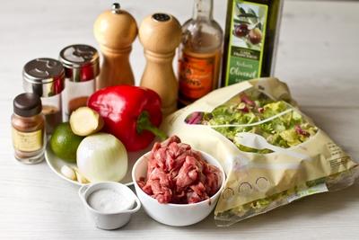 Салат из говядины и перца - фото шаг 1