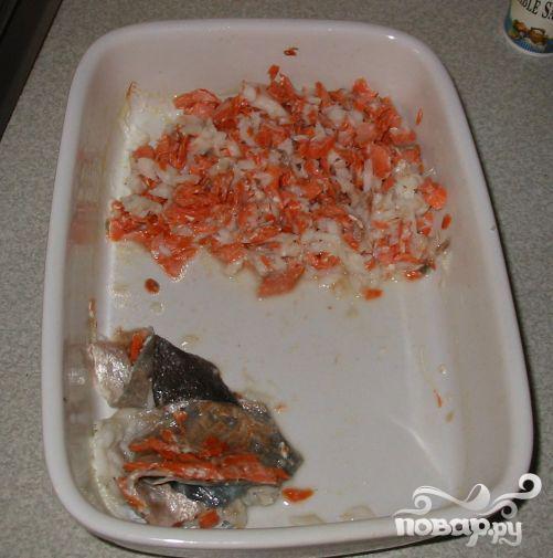 Рыбный пирог с сыром Чеддер - фото шаг 2