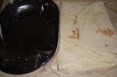 Пирог из лаваша с рыбой - фото шаг 1