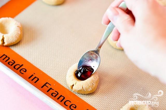 Мини-печенье с джемом - фото шаг 4