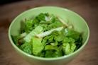 Салат из зелени